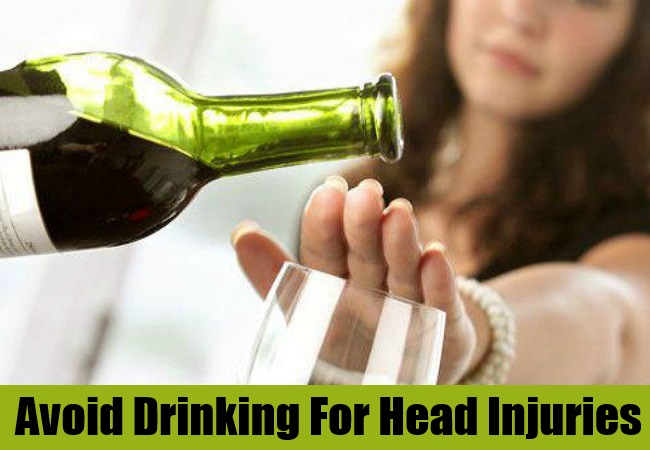 Avoid Drinking For Head Injuries