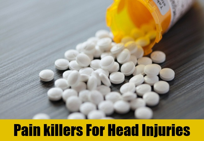 Pain killers For Head Injuries