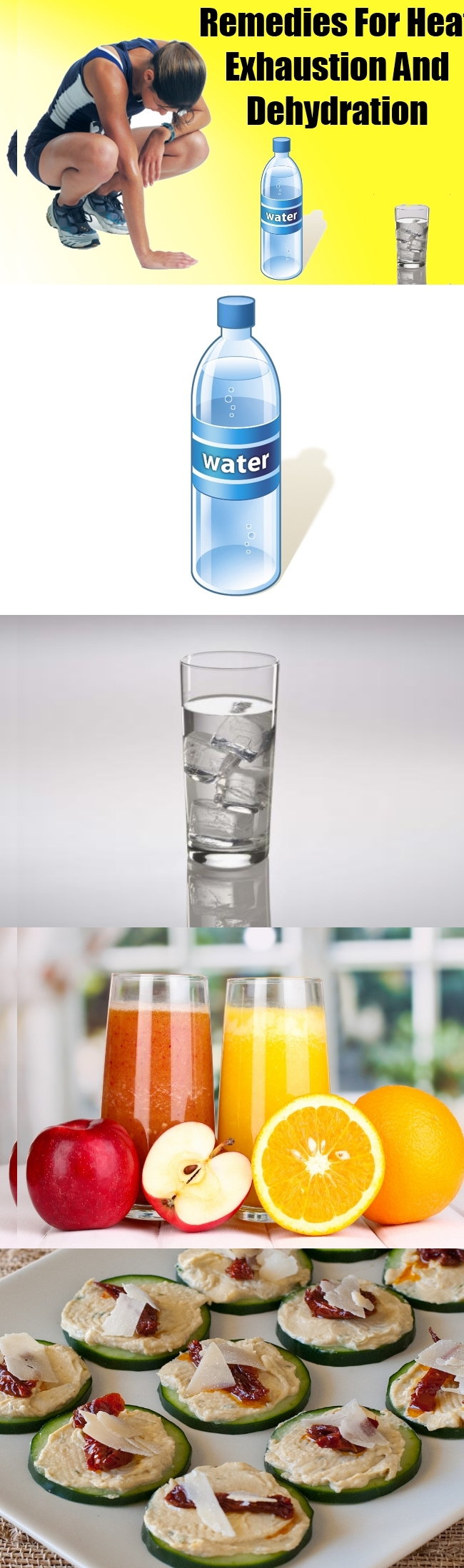 Remedies for Heat Exhaustion and Dehydration