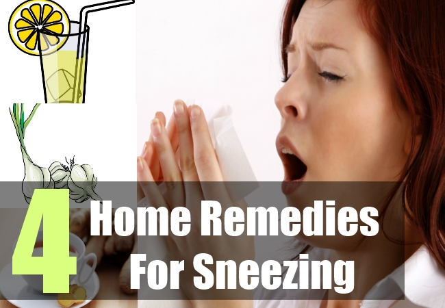 4 Home Remedies For Sneezing