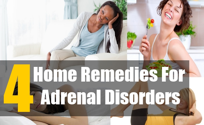 4 Home Remedies for Adrenal Disorders