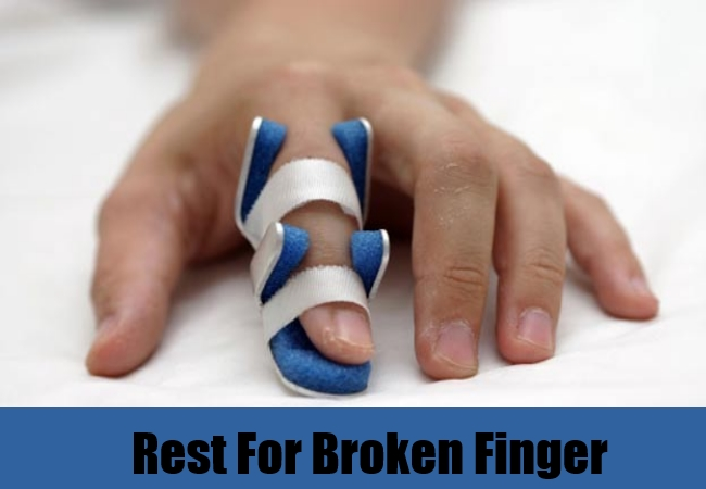 Rest For Broken Finger