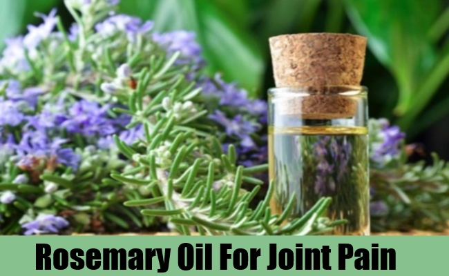 Rosemary Oil For Joint Pain