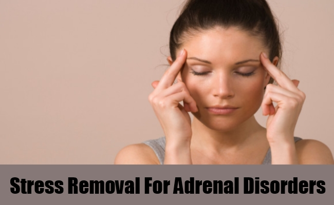 Stress Removal For Adrenal Disorders