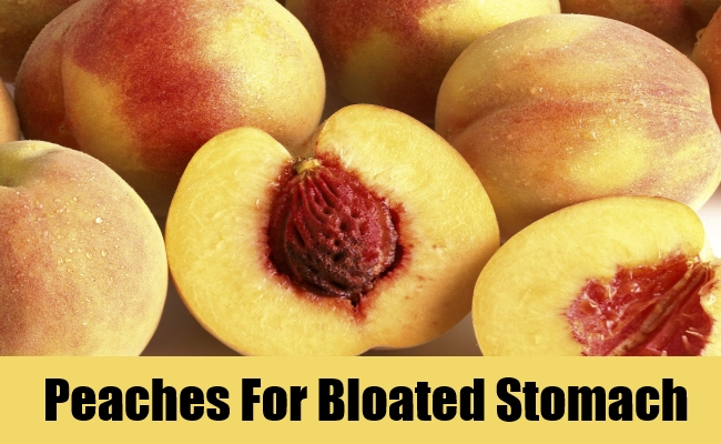 Peaches For Bloated Stomach