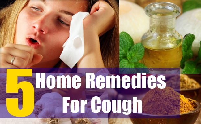 5 Home Remedies For Cough