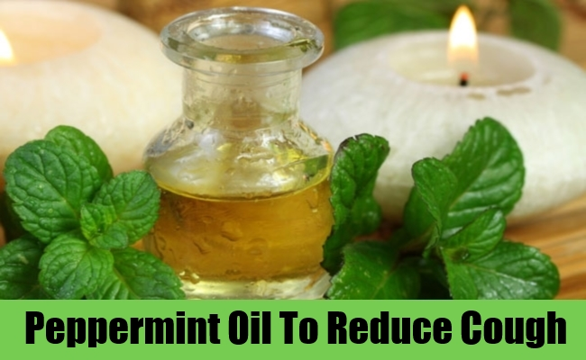 Peppermint Oil To Reduce Cough