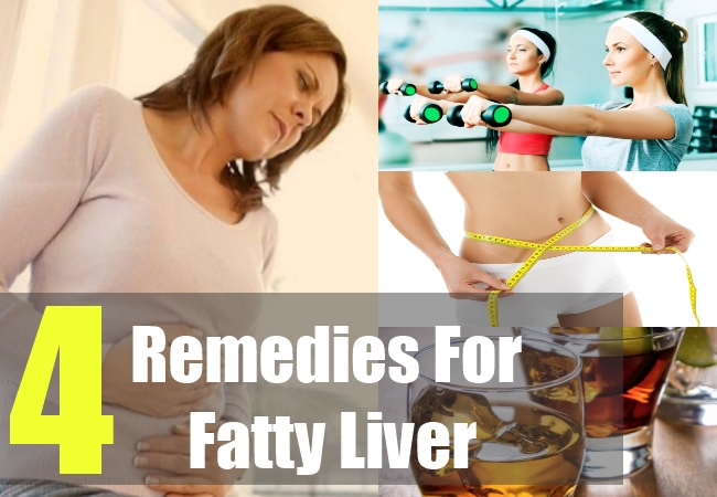 4 Remedies For Fatty Liver