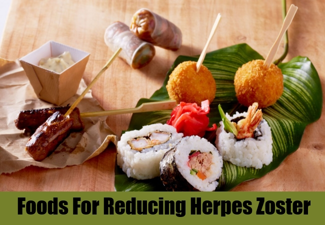 Foods For Reducing Herpes Zoster