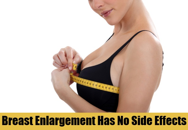Natural Breast Enlargement Has No Side Effects