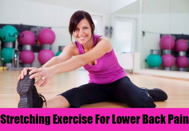 Stretching Exercise For Lower Back Pain