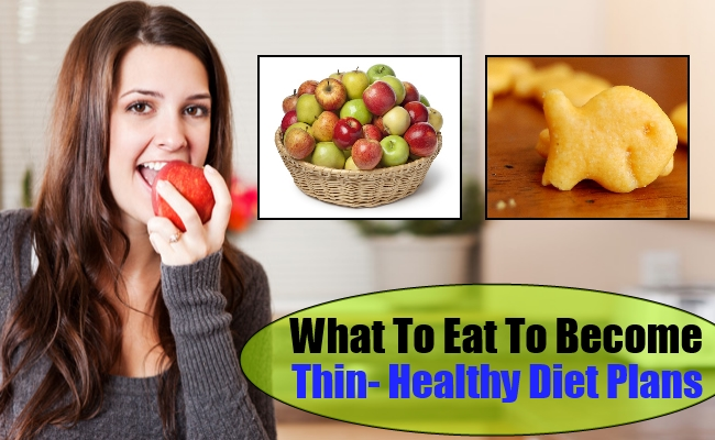 Thin- Healthy Diet Plans