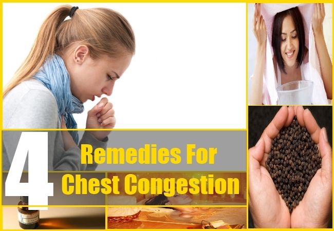 4 Remedies For Chest Congestion