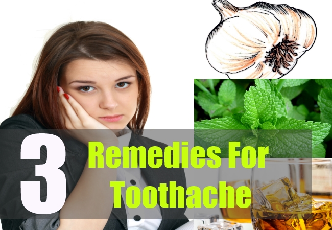 3 Remedies For Toothache