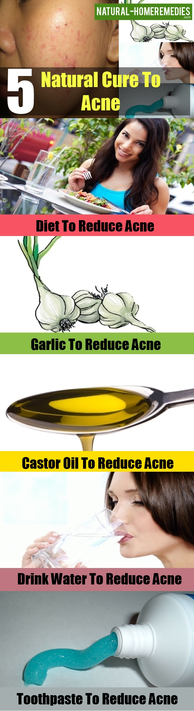 Natural Cure To Acne