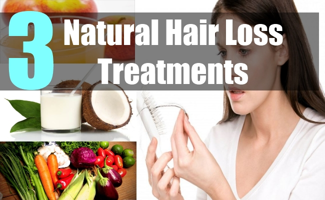 3 Natural Hair Loss Treatments