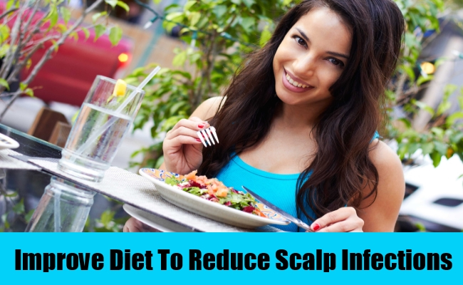 Improve Diet To Reduce Scalp Infections
