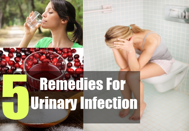 5 Remedies For Urinary Infection