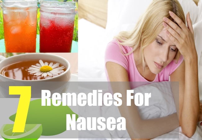 7 Remedies For Nausea