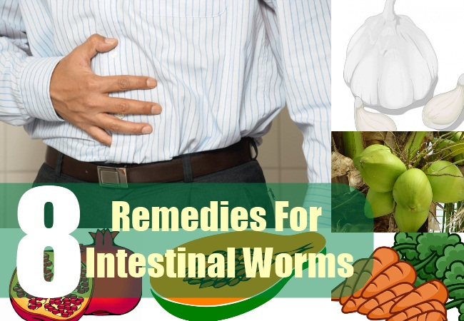 8 Remedies For Intestinal Worms