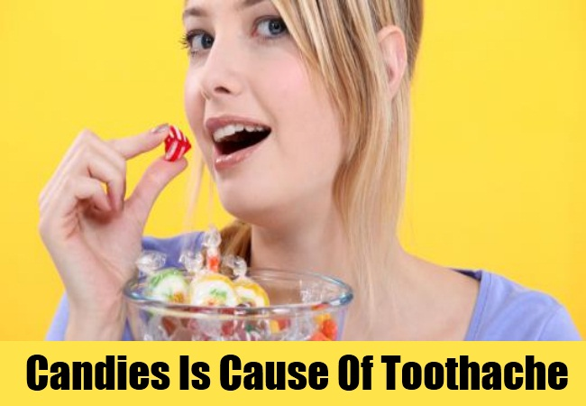 Candies Is Cause Of Toothache