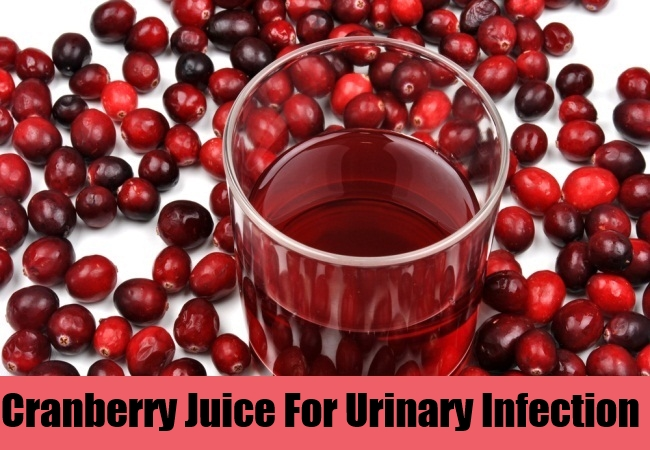 Cranberry Juice For Urinary Infection