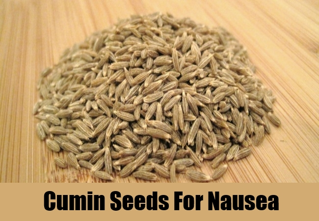 Cumin Seeds For Nausea