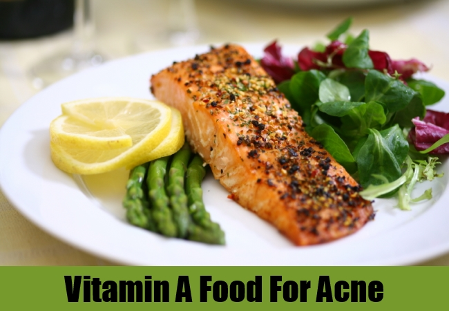 Vitamin A Food For Acne