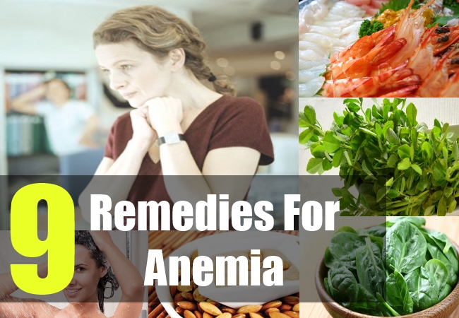 9 Remedies For Anemia