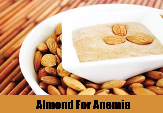 Almond For Anemia
