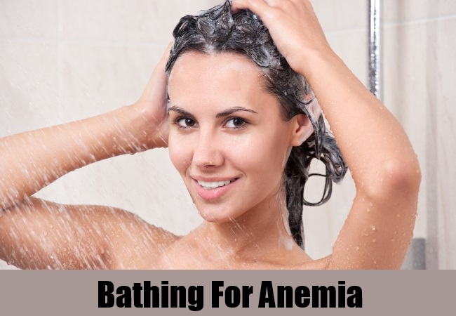 Bathing For Anemia