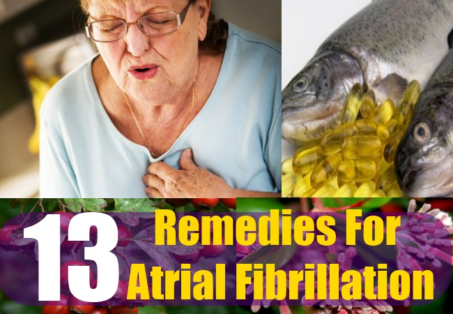 13 Remedies For Atrial Fibrillation