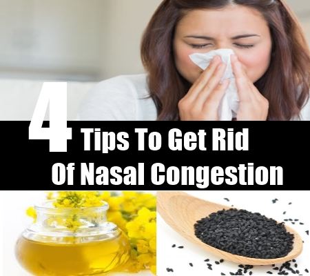 Tips To Get Rid Of Nasal Congestion