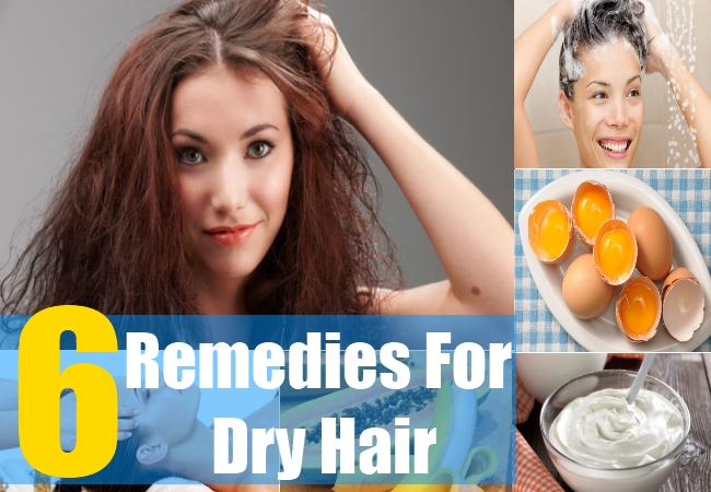 6 Remedies For Dry Hair