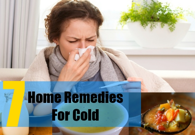 7 Home Remedies For Cold