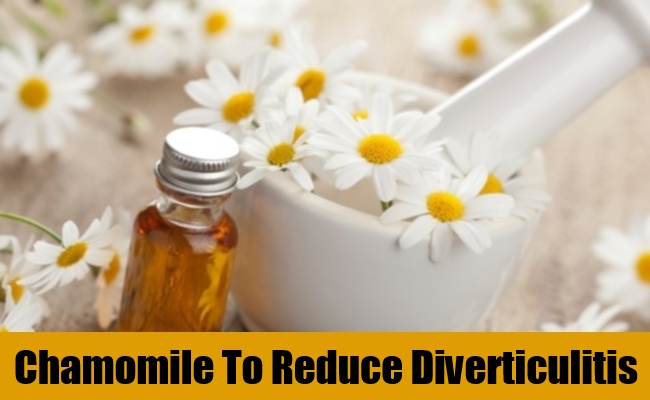 Chamomile To Reduce Diverticulitis