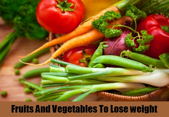 Fruits And Vegetables To Lose Weight