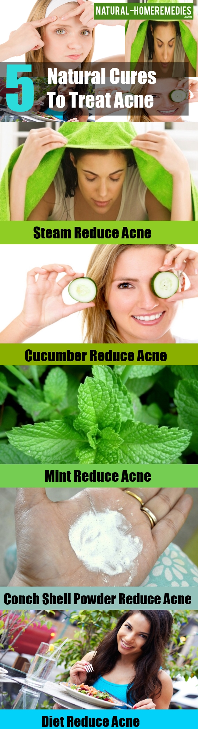 Natural Cures To Treat Acne