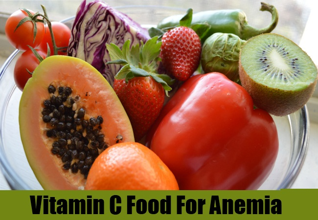 Vitamin C Food For Anemia