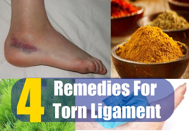 4 Remedies For Torn Ligament