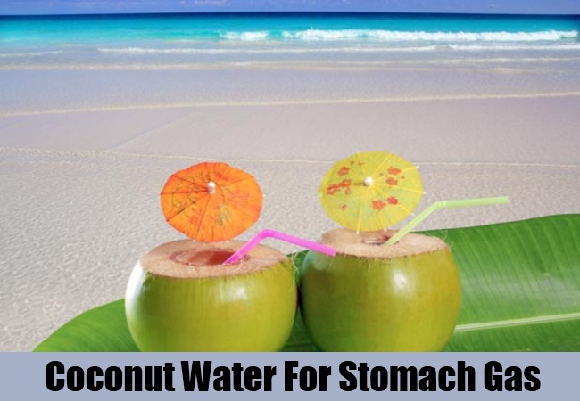 Coconut Water For Stomach Gas
