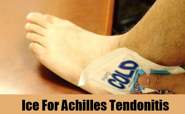 Ice For Achilles Tendonitis