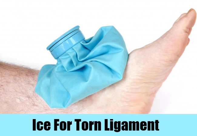 Ice For Torn Ligament