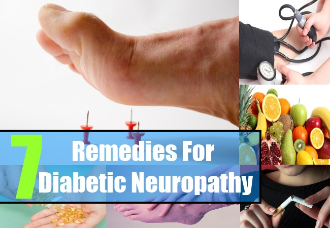 7 Remedies For Diabetic Neuropathy