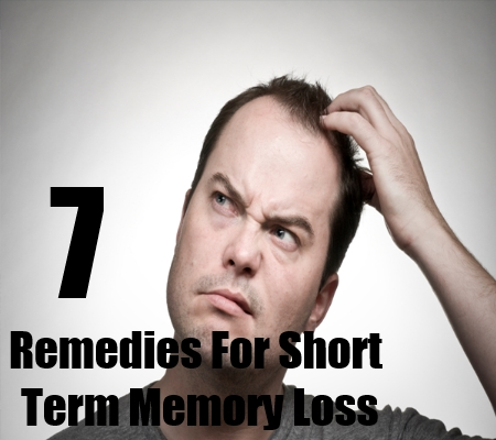 Remedies For Short Term Memory Loss