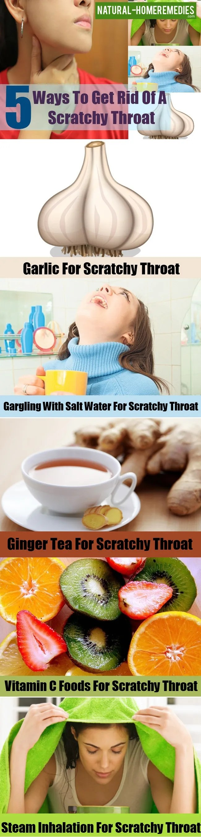 Get Rid Of A Scratchy Throat