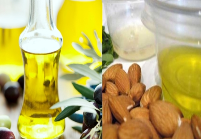 Almond Oil And Olive Oil