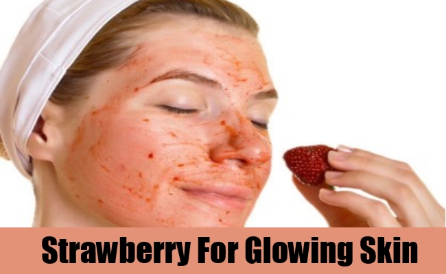 Strawberry For Glowing Skin