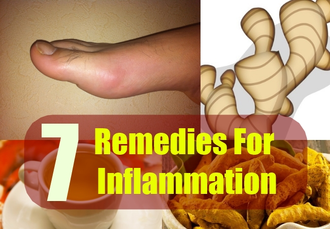 7 Remedies For Inflammation