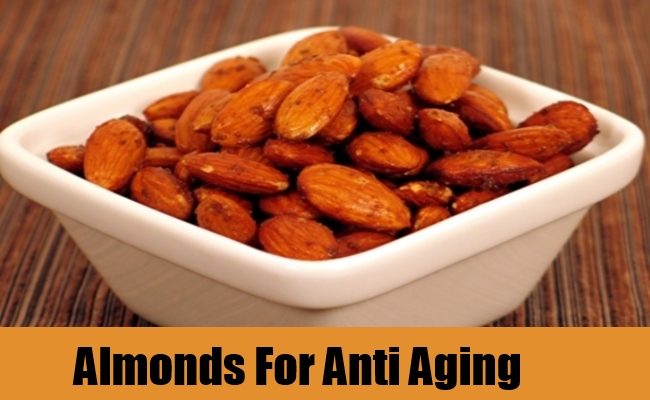 Almonds For Anti Aging